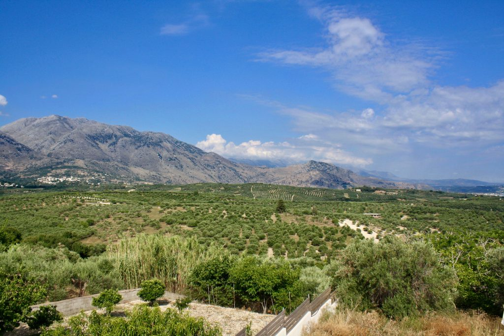 Ferienhaus mit Meerblick auf Kreta